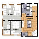 Wohnung Typ S 006